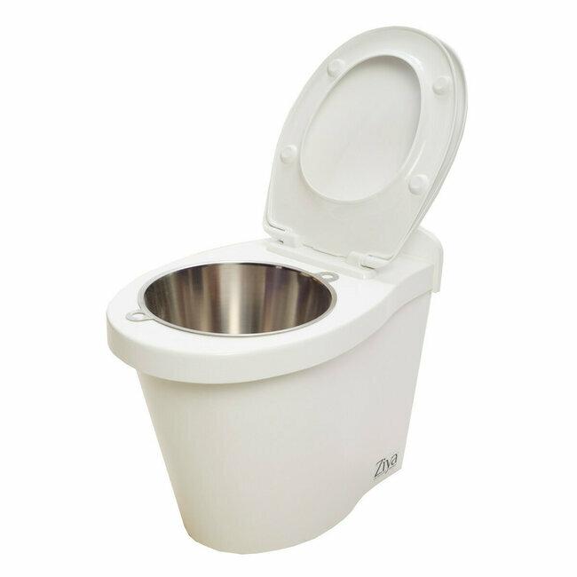 Ziya clean toilette sans eau avec seau int gr - Toilette seche camping car ...