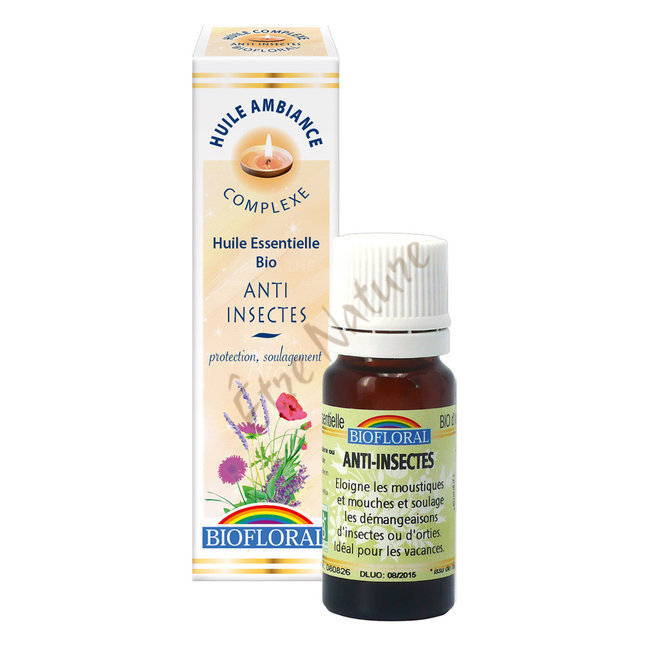 Huile D 39 Ambiance Anti Insectes 10ml