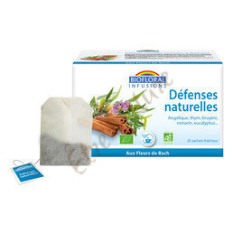 Infusion Protection Défenses naturelles Résistance Biofloral