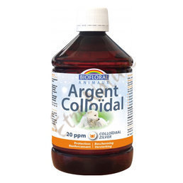 Argent colloïdal naturel ANIMAUX 20ppm Biofloral 500ml