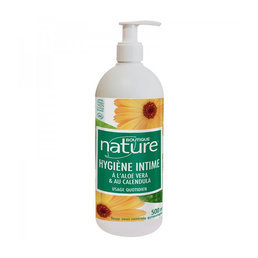 Gel toilette intime bio Aloé Calendula Boutique Nature 500ml