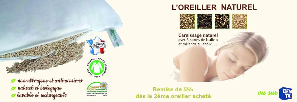 oreiller epeautre sarrasin Oreiller bio naturel en Epeautre, Sarrasin ou Millet : quelle  oreiller epeautre sarrasin